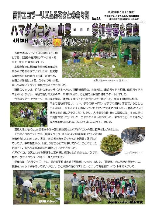 No.023:ハマダイコン・山菜・・・春を満喫